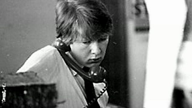 A young Bill Turnbull