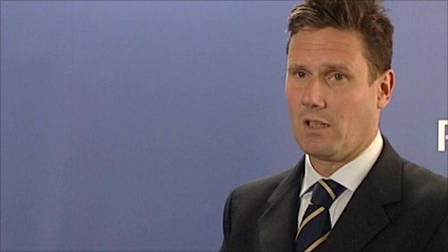 Keir Starmer, the director of the Crown Prosecution Service