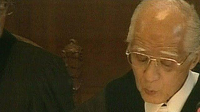 ICJ president Hisashi Owada