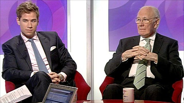 Patrick Hennessey and Sir Menzies Campbell