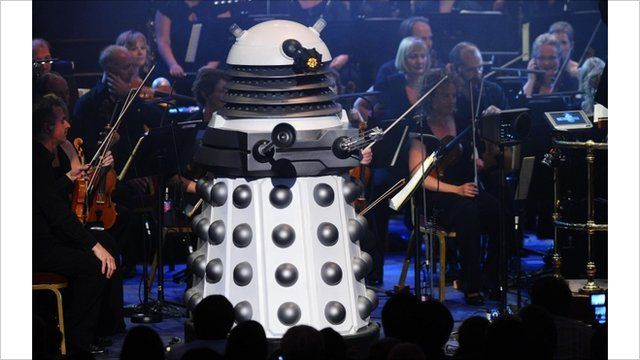Dalek at Doctor Who Prom