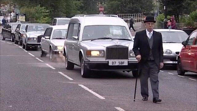 Funeral cortege
