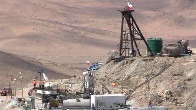 Chile's San Jose mine