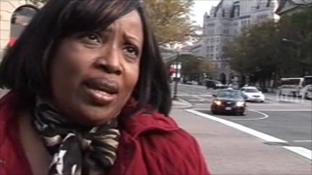 Woman in Washington