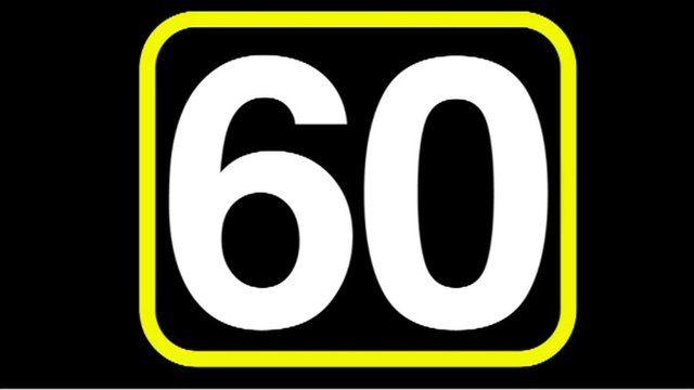 60 seconds graphic