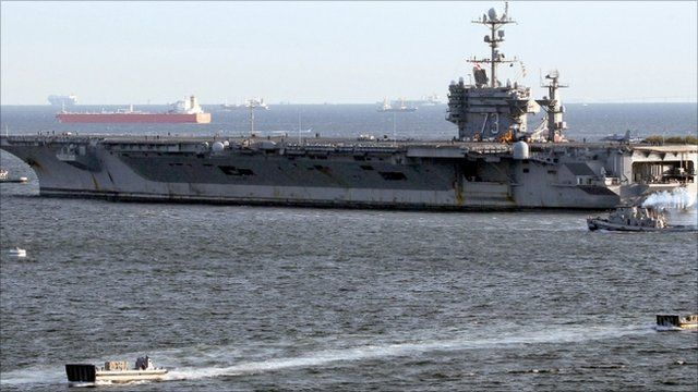USS George Washington - 24 November 2010