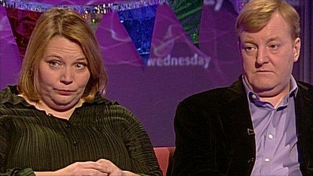 Joanna Scanlan and Charles Kennedy