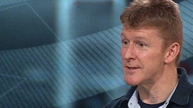 Tim Peake, British astronaut