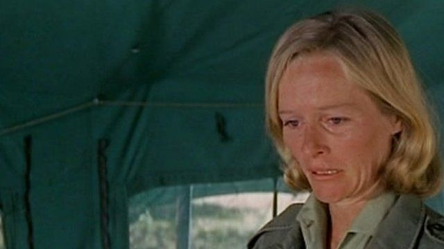 Actress Virginia McKenna