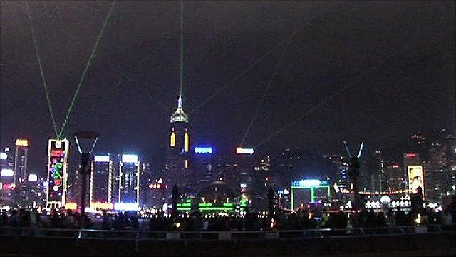 Hong Kong's 'Symphony of Lights'
