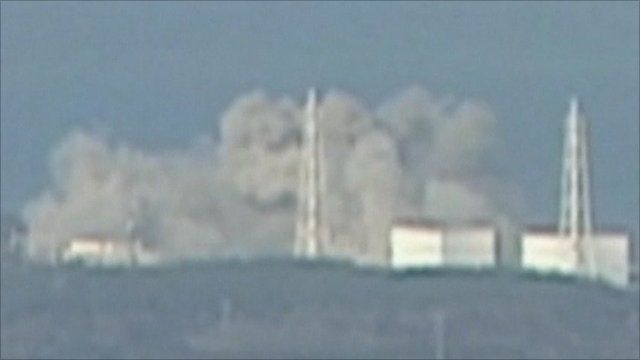 Explosion at nuclear plant