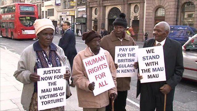 Kenyans who allege they were tortured