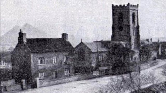 Village of Trowell in Nottinghamshire