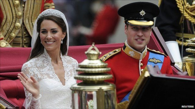 The Duchess of Cambridge and Prince William