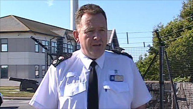Chief Superintendent Dean Richards