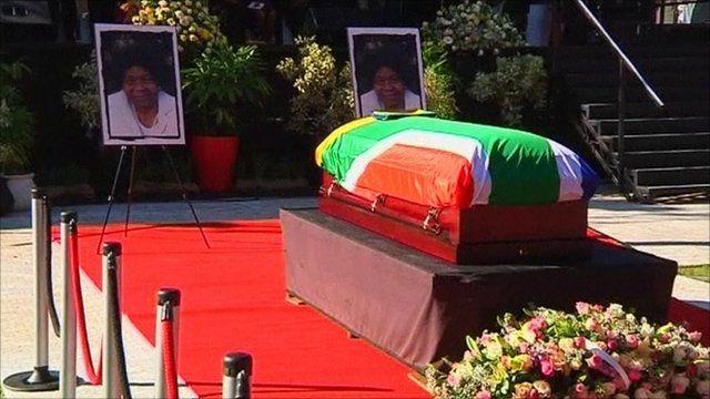 Funeral of Albertina Sisulu