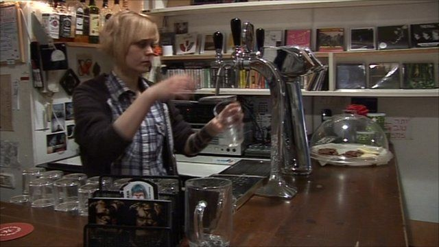 Pulling a pint