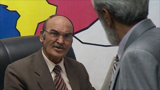 Qadir Faroukh, star of The Ministry