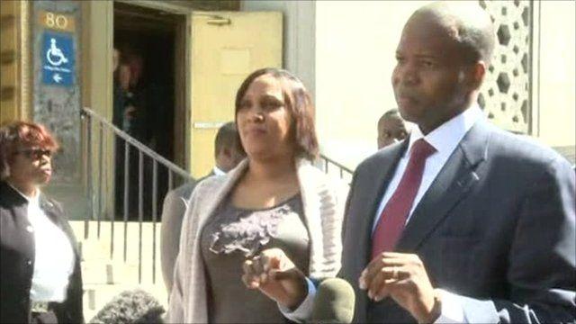 Nafissatou Diallo and her layer Kenneth Thompson