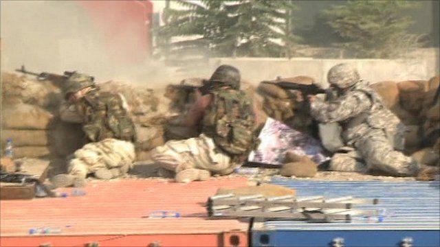Gun battle in Kabul