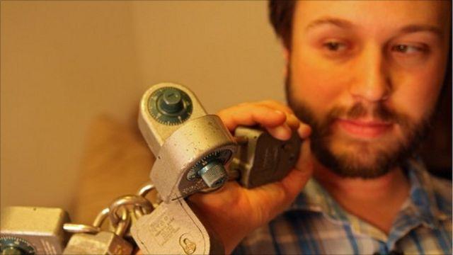 lock picker holds locks