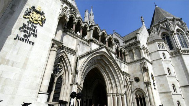 Royal Courts of Justice in the Strand, London