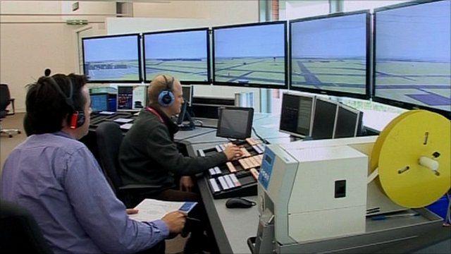 National Air Traffic Services HQ in Fareham, Hampshire