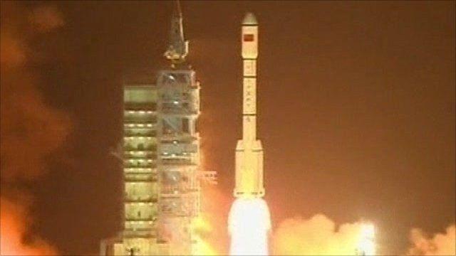 Tiangong-1 rocket launch
