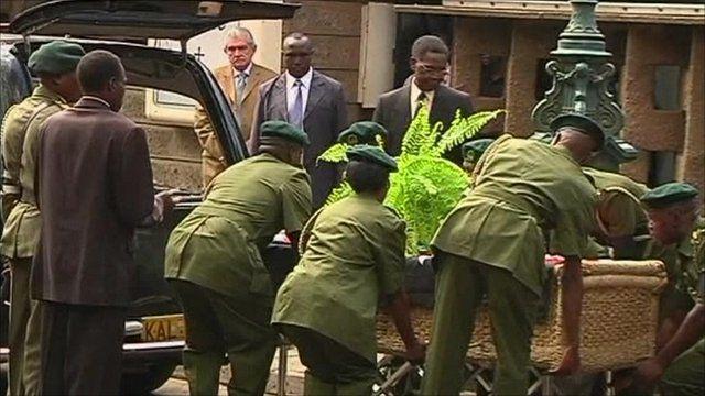 Wangari Maathai funeral