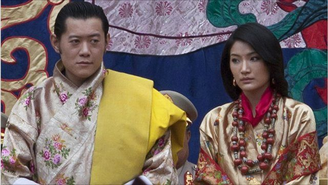King Jigme Khesar Namgyel Wangchuck and Jetsun Pema