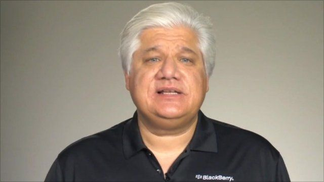 RIM Founder and Co-CEO, Mike Lazaridis