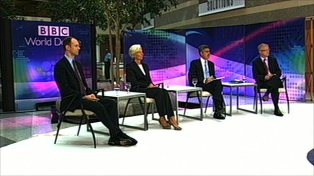 BBC World Debate at the IMF