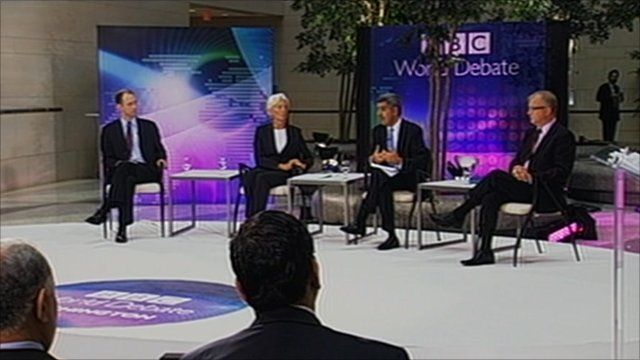BBC World Debate at the IMF