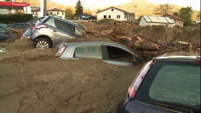 Floods in northern Italy