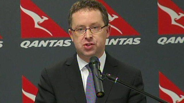 Alan Joyce, chief executive of Qantas