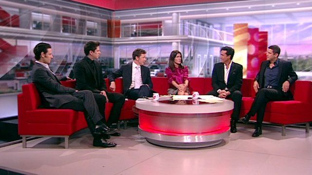 Il divo 39 we had to fast track our bonding bbc news - Il divo meaning ...