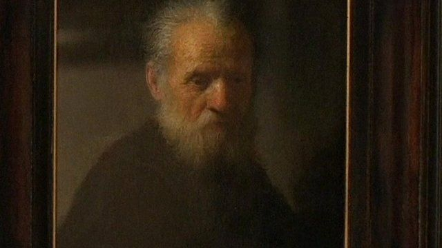 Old Man with a Beard by Rembrandt