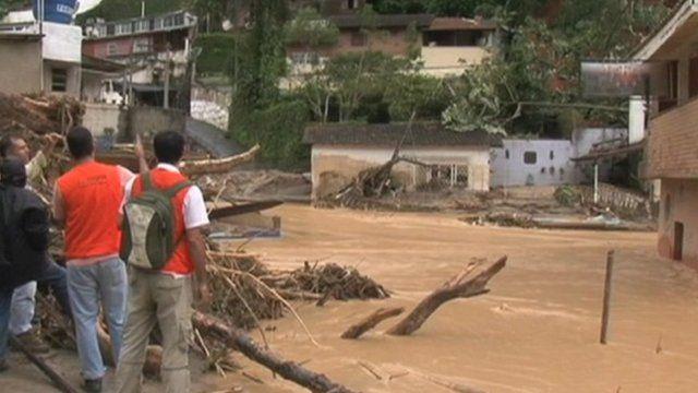 Flooding in Brazil