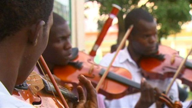 Orchestra in DR Congo