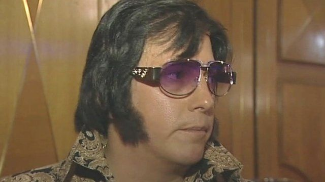 An Elvis tribute act