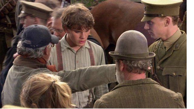 Tom Hiddlestone in War Horse