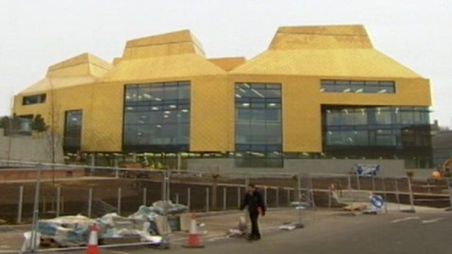 The Hive, Worcester's library and history centre