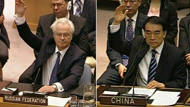 Russia and China at UN
