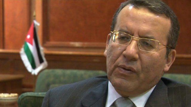 Ayman Odeh, Jordanian minister for legislative affairs