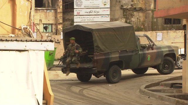 Rival factions fight on streets of northern Lebanon