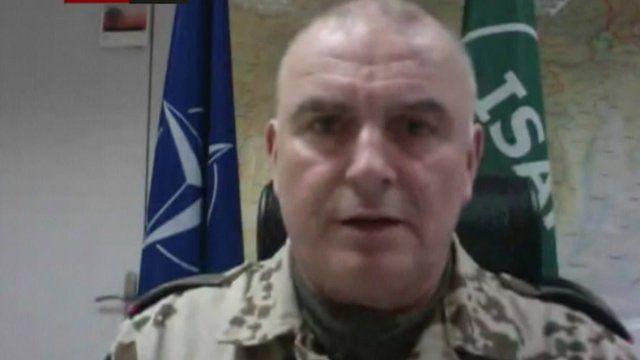 Brig Gen Carsten Jacobson, ISAF spokesman