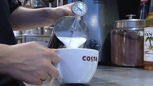 Costa Coffee shop