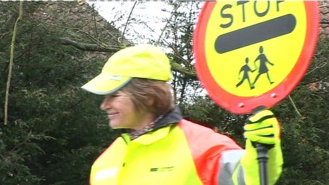 Lollipop lady Sarah Porteus