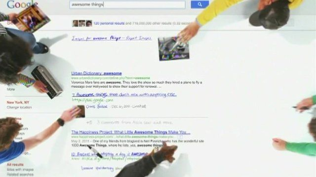 A Google advert