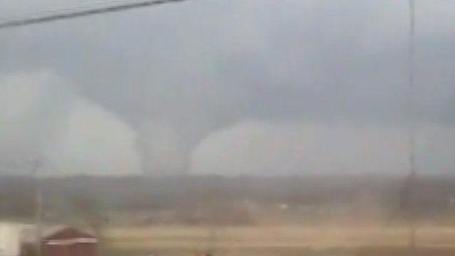 Tornado in Indiana (courtesy of Chad Hinton)